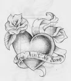 Heart Tattoo Design by on DeviantArt www. - - Heart Tattoo Design by on DeviantArt www. Pencil Art Drawings, Love Drawings, Art Drawings Sketches, Tattoo Sketches, Heart Drawings, Disney Tattoos, Dog Tattoos, Body Art Tattoos, Rose Sketch