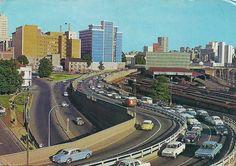Queen Elizabeth Bridge, Braamfontein. Johannesburg Skyline, Water Sources, Its A Wonderful Life, Africa Travel, South Africa, Landscape Photography, Bridge, African, History