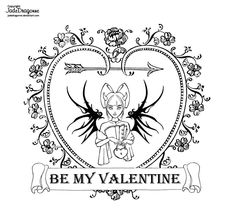 Valentine 2020 - lineart by JadeDragonne on DeviantArt Princess Coloring Pages, Adult Coloring Pages, Coloring Sheets, Coloring Books, Female Dragon, Jade Dragon, Drawing Tools, Be My Valentine, Traditional Art