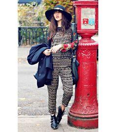 @Who What Wear - Best Bohemian Style   Natalie Suarez of Natalie Off Duty
