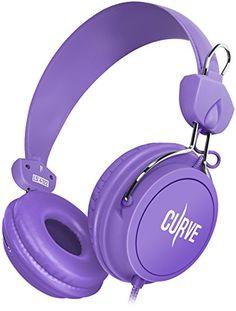 dea8369268c Sentey  Headphones with Microphone Cu… Kids Headphones, Workout Headphones,  Running Headphones,