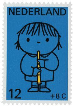 1969 Ontwerp: D. Bruna Thema: Kind en muziek