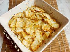 chips di sedano rapa -