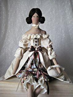 Tilda doll Fabric Doll OOAK Tilda doll Textile doll Gift For