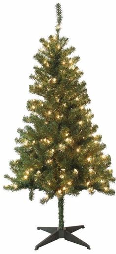 Pre Lit Wood Trail Pine Artificial Christmas Tree with 200 Clear Lights 5 Feet #ChristmasTree #Tree #ArtificialTree #ArtificialChristmasTree #200Lights #5Feet #WoodTrail #ClearLights #LEDLights #HolidayDecor #HomeDecor #Decor #ChristmasDecor #PreLit #Holidays