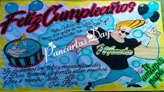 Ooooh, Nena!!! Johnny Bravo, Body Art Tattoos, Comic Books, Comics, Birthday Banners, Banners, Venezuela, Creativity, Manualidades