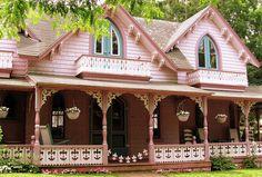 Gingerbread house in Martha's Vineyard