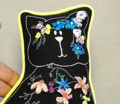 Hey, I found this really awesome Etsy listing at https://www.etsy.com/listing/218474104/a-splendid-cat-doorstop-embroidered