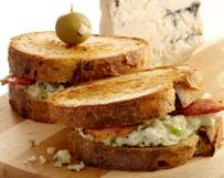 Grilled Wisconsin Blue Cheese And Bacon Sandwiches | Wisconsin Milk Marketing Board