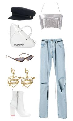 """Untitled #131"" by alexis6214 ❤ liked on Polyvore featuring Off-White and Balenciaga"