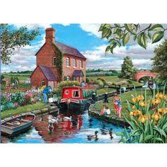 Pêche au canal (400 pieces)