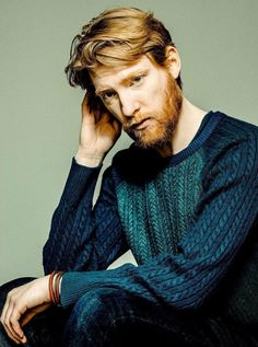 Domhnall Gleeson is one dashing man. Ginger Men, Ginger Beard, Domhall Gleeson, Ginger Models, Star Wars Cast, Actors Male, Fringe Haircut, Ex Machina, Male Beauty