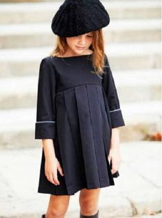 #PepitobyChus #vestido #niña #estilo #elegante #dress #girl #style #elegant #robe #fille #élégant #mode #fashion #Little #fashionista #kids #Street #style #cool #look #formal #wear