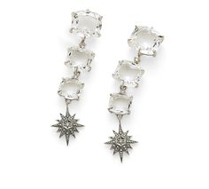 From the Moonlight Crystal collection by H. Stern - these would look great with a long black maxi and a messy undo. Perfect for a warm summer night! Available at TIVOL.