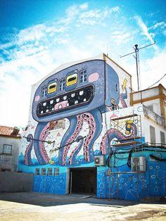 MR. THOMS http://www.widewalls.ch/artist/mr-thoms/ #street #art