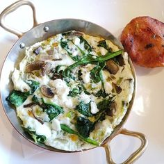 Egg white fritata to