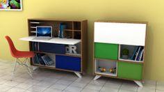 Consola Escritorio MANLY (diseño sobre medidas)*diferentes colores y acabados.  #dimojimobiliario, #diseno, #diseño, #mobiliario, #colores, #innovación, #creatividad, #fabricación, #colombiano, #mueble, #cute, #dimoji, #gabinete, #almacenamiento, #escritorio
