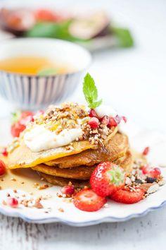 Kurkuma-Pancakes zum Frühstück!