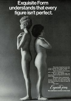 Thankfully we no longer see advertisements like this one. The advertising profession, centered on Madison Avenue, New York in the 1960's was a male-dominated profession which produced adverts like this for female consumers.