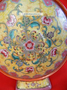 Ch ' Ing Dynasty Ch ' Ien Lung Fencai Vase_ http://ancientpoint.com/inf/99477-ch__ing_dynasty_ch__ien_lung_fencai_vase.html