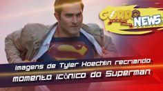 Supergirl – Imagens de Tyler Hoechlin recriando momento icônico do Superman