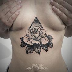 I'm in love with sternum tattoo.