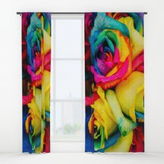 """Your drapes don't have to be so drab. Our awesome Window Curtains transform a neglected essential into an awesome statement piece. Featuring a single-sided print with a reverse white side.     - Dimensions: 50"""" (W) x 84"""" (H)   - Available in single or double panel options   - Crafted with 100% lightweight polyester, blocks out some light   - 4"""" hanging pocket for easy hanging on any rod   - Single side print on front with reverse white side   - Machine wash cold, tumble dry low Window Curtains, Wall Prints, Windows, Graphics, Cold, Quilts, Pocket, Blanket, Awesome"""
