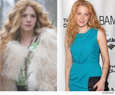 Rachelle Lefevre (Victoria from the first Twilight movie.)