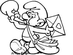 coloring page Smurfs on Kids-n-Fun. Coloring pages of Smurfs on Kids-n-Fun. More than coloring pages. At Kids-n-Fun you will always find the nicest coloring pages first! Mickey Mouse Coloring Pages, Pokemon Coloring Pages, Cool Coloring Pages, Cartoon Coloring Pages, Free Printable Coloring Pages, Coloring Sheets, Adult Coloring, Coloring Books, Free Printables