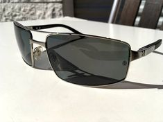 1bef8dfb3b1 Cartier Santos Galaxy Ruthenium polarized sunglasses made in France
