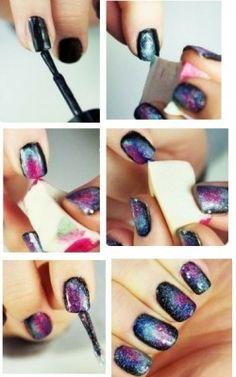Hoe maak je galaxy nagels | MaxaFashion