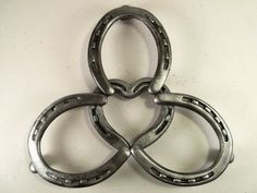 Heart Horse Shoe Trivet Made in Texas by XXRanchArt on Etsy, $38.00