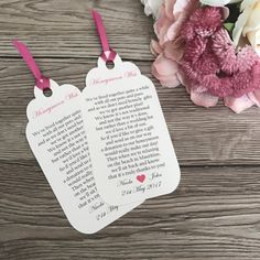 Gift poem tag wedding invitation gift wish by CanIDoUAFavour Invitation Examples, Color Schemes, Poems, Wedding Invitations, Etsy Shop, Christmas Ornaments, Holiday Decor, Unique Jewelry, Handmade Gifts