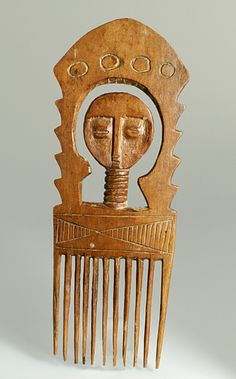 Africa | Comb from the Ashanti people of Ghana | Wood | 1970