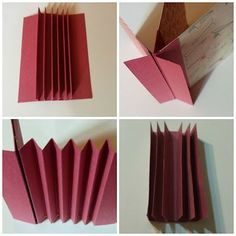 Blog Scrap Secrets: CUATRO FORMAS DE ENCUADERNACIÓN DE ESPINA Mini Albums, Mini Scrapbook Albums, Baby Scrapbook, Mini Album Tutorial, Fabric Journals, Handmade Books, Book Binding, Mini Books, Book Art