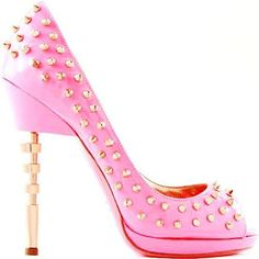 Pink Studded Dress Shoes - Love It So Much