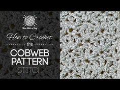 How to Crochet the Cobweb Stitch