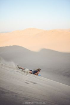 Sandboarding and Dune Buggies in Huacachina, Peru