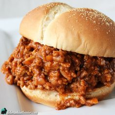 In my opinion, one of the best and tastiest comfort foods has got to be Sloppy Joes. This is my take on the traditional messy and delicious Sloppy Joe… using the slow cooker! Slow cooker Sloppy Joes are so easy to make and they taste sooooogood! These were always a favorite of mine and I …