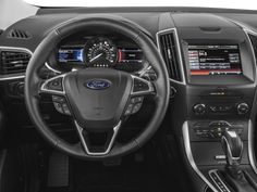 See average price, mileage, photos, trim options, body styles and fuel economy for 2016 Ford Edge Nationwide Prices & Inventory now on J. Ford Edge Suv, 2016 Ford Edge, My Dream Car, Dream Cars, Kelley Blue, Power Cars, Sports Wallpapers, Rear Seat, Car Show