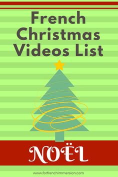 French Christmas videos list: Christmas-themed videos for your French classroom. Pour No& French Christmas Songs, French Songs, Christmas Videos, French Movies, French Stuff, French Teaching Resources, Teaching French, Teaching Ideas, French Lessons