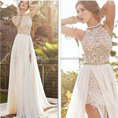 Free shipping, $140.42/Piece:buy wholesale Julie Vino 2014 Wedding Dresses Halter High Neck Lace Appliques Chiffon Skirt Beach Wedding Dresses Summer Bridal Dresses Long Prom Dresses from DHgate.com,get worldwide delivery and buyer protection service.