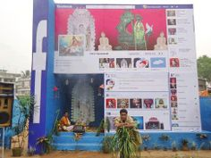 FaceBook Temple in India