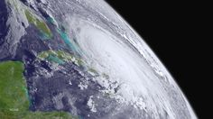 Hurricane Joaquin is seen over the Bahamas in the Atlantic Ocean in an image from the NOAA GOES West Satellite taken at 0:800 ET (12 GMT) October 1, 2015.