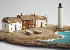 Kirsty Elson, Cornwall based multi-media artist. So lovely.