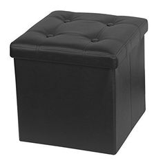 The Single Memory Foam #Folding Ottoman adds seating and storage space to any of your room. It can store a variety of items in your room. If the ottoman itself n...