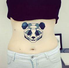 geometric panda.
