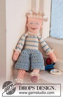 "The crochet doll ""Peter"" - Free Amigurumi Pattern here: http://www.garnstudio.com/lang/us/pattern.php?id=2283&lang=us"