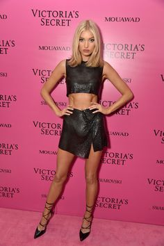 Elsa Hosk in Fanni Sciavoni attends the VSFW Afterparty 2017