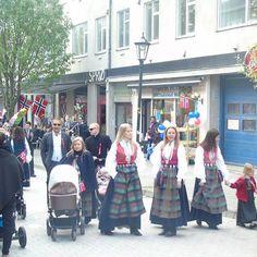 Norwegian Constitution day - traditional dress #Norway #kristiansund…